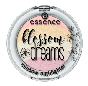 essence blossom dreams rainbow highlighter