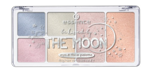 essence be kissed by the moon eye & face palette 03