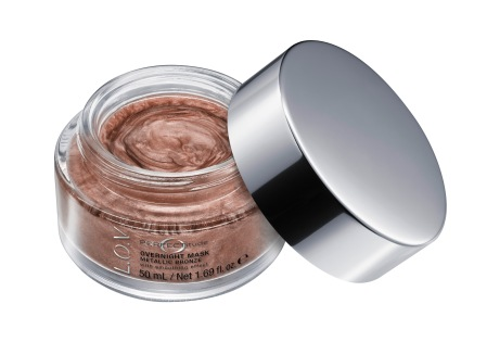 4059729003997_L_O_V PERFECTITUDE overnight mask metallic bronze_Image_Front-View-Open