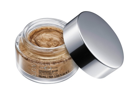 4059729004000_L_O_V PERFECTITUDE overnight mask metallic gold_Image_Front-View-Open