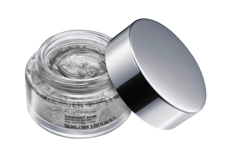 4059729004017_L_O_V PERFECTITUDE overnight mask metallic silver_Image_Front-View-Open