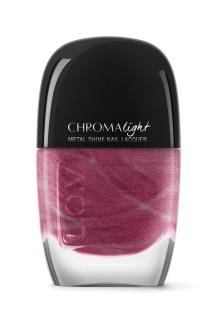 L_O_V CHROMAlight metal shine nail lacquer 110 Glittering Violett