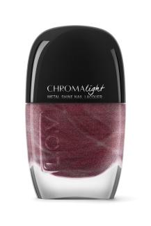 L_O_V CHROMAlight metal shine nail lacquer 120 Sparkling Berry